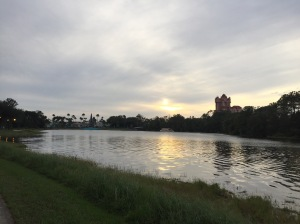 Walking to Hollywood Studios from Epcot