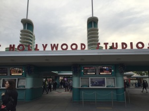 Arrived in Hollywood!