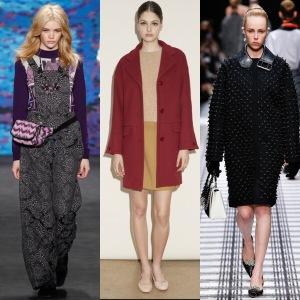 1: Anna Sui; 2: A.P.C. ; 3: Balenciaga