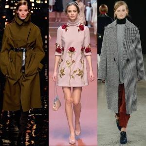1: Donna Karan; 2: Dolce & Gabbana; 3: Edun